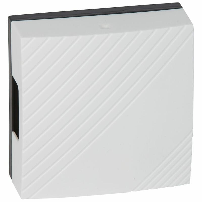 Carillon électromécanique 8V~ à 12V~ emballage traditionnel blanc