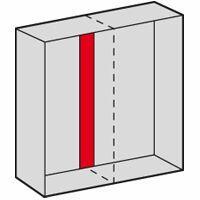 Plaque intermédiaire pour armoire Altis assemblable hauteur 2000mm