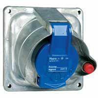 Prisinter fixe Hypra IP44/55 32A - 200V~ à 250V~ - 3P+T - métal
