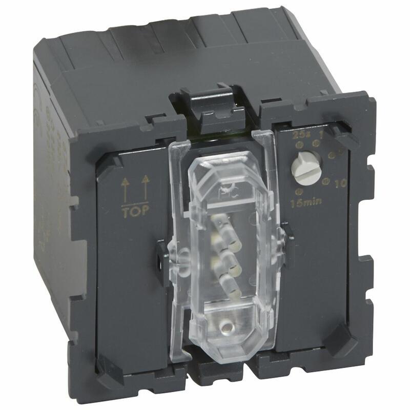 Interrupteur avec ventilation retardée Céliane 250W 250VA