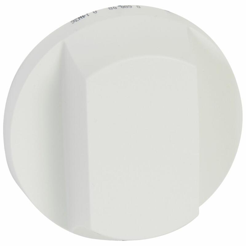 Enjoliveur large Céliane pour interrupteur , va-et-vient ou poussoir à tirage - Blanc