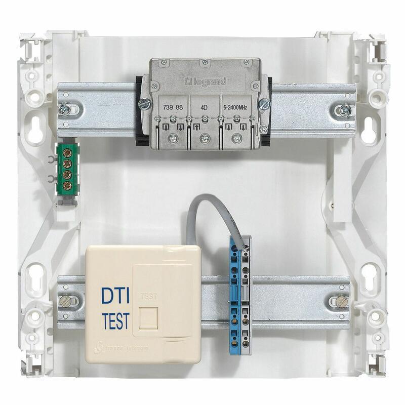 Dispositif de terminaison intérieur (DTI) - format prise RJ 45