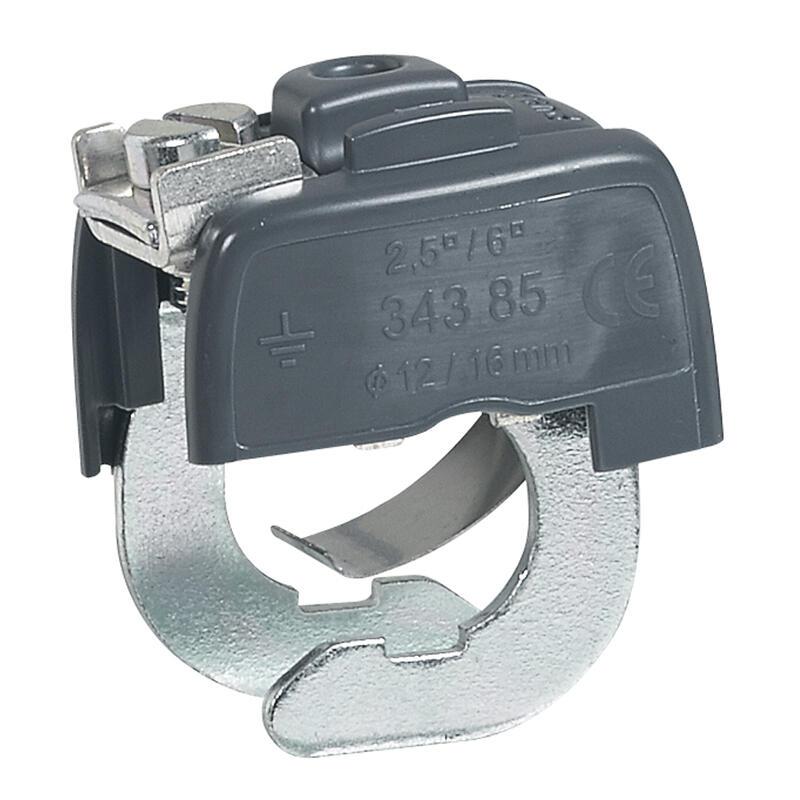 Connecteur de mise à la terre - pour canalisations métalliques Ø12mm à Ø16mm