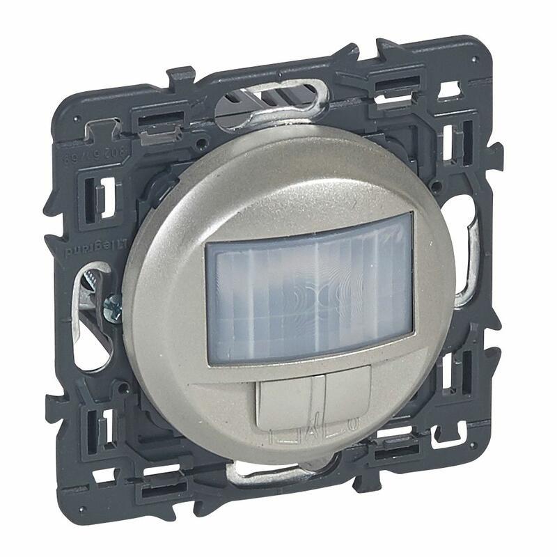 Interrupteur automatique Céliane - 400W toutes lampes - Titane