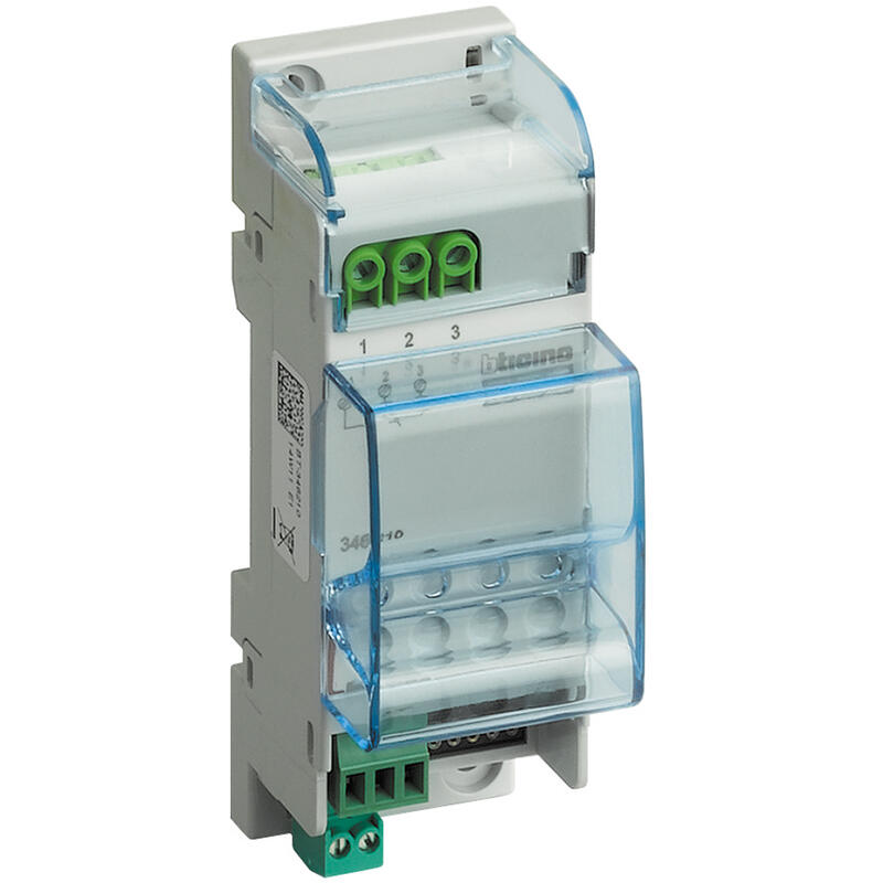Relais modulaire BUS pour fonctions auxiliaires 2 modules