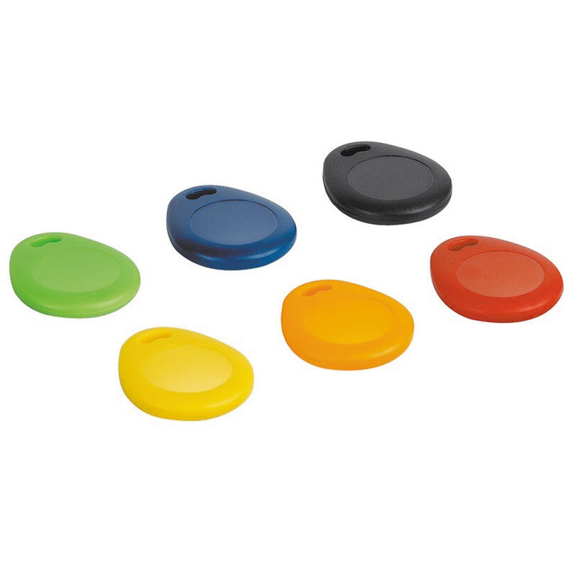 Lot de 6 badges de couleur compatibles avec le contrôle d'accès