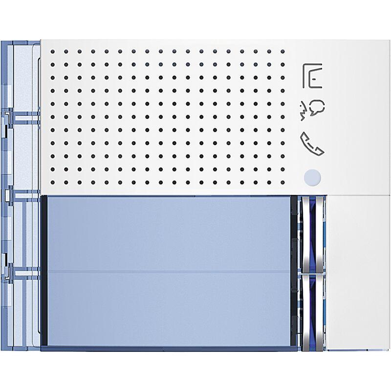 Façade Sfera New pour module électronique audio 2 appels Allwhite