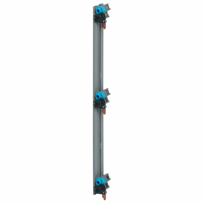 Peigne d'alimentation verticale VX³ optimisée monophasée - pour coffret 3 rangées entraxe 150mm