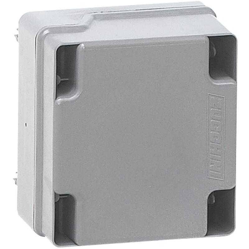 Boîte de dérivation pour mini canalisation MS - vide avec 4 modules rail DIN - 32A
