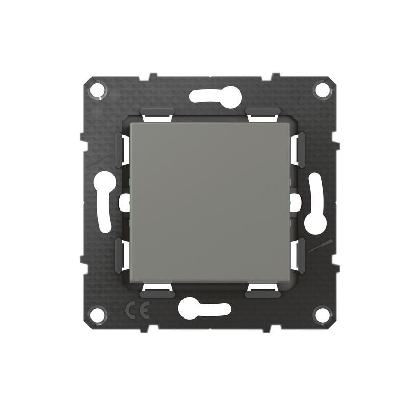 Poussoir Altège 6A avec connexion à bornes automatiques - finition Nuage