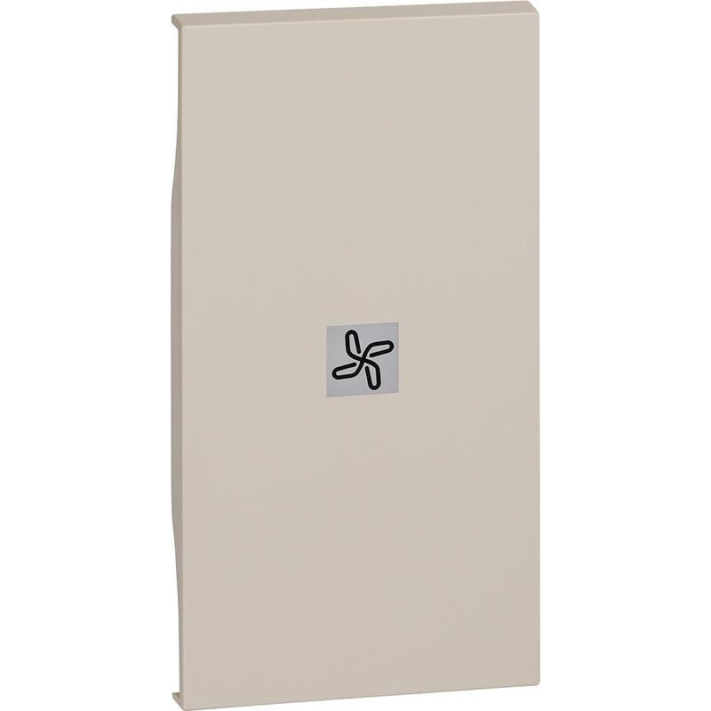 Enjoliveur Living Now avec marquage ventilateur 2 modules - sable