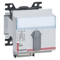 Commutateur de voltmètre modulaire triphasé 4 positions - 3 modules