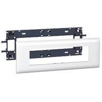 Support Mosaic 8 modules pour goulotte DLP monobloc avec couvercle 85mm