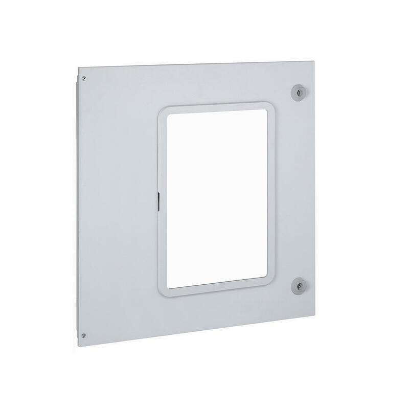 Plastron métal pour 1 DMX³1600 ou DMX³-I1600 débrochable dans gaine à câbles XL³4000
