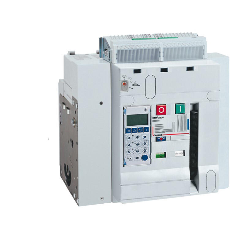 Disjoncteur ouvert fixe DMX³2500 pouvoir de coupure 100kA taille 2 - 3P - 630A