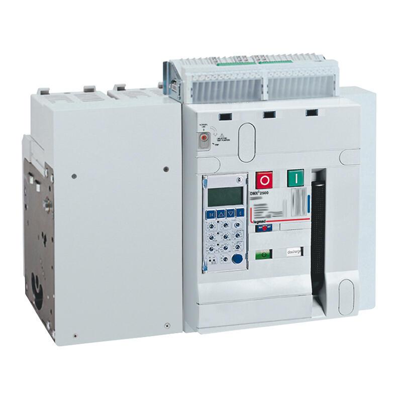 Disjoncteur ouvert fixe DMX³2500 pouvoir de coupure 100kA taille 2 - 4P - 2000A