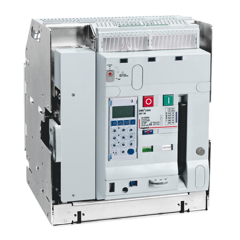 Disjoncteur ouvert débrochable DMX³2500 pouvoir de coupure 50kA taille 1 - 3P - 2500A