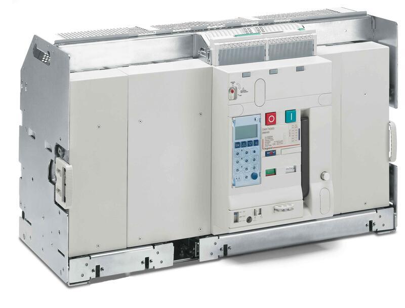 Disjoncteur ouvert débrochable DMX³6300 pouvoir de coupure 100kA taille 3 - 3P - 6300A