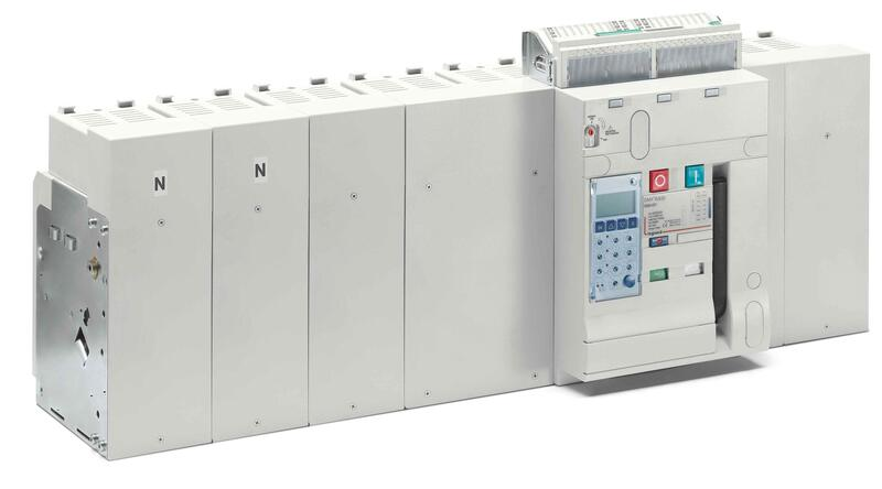 Disjoncteur ouvert fixe DMX³6300 pouvoir de coupure 100kA taille 3 - 4P - 6300A