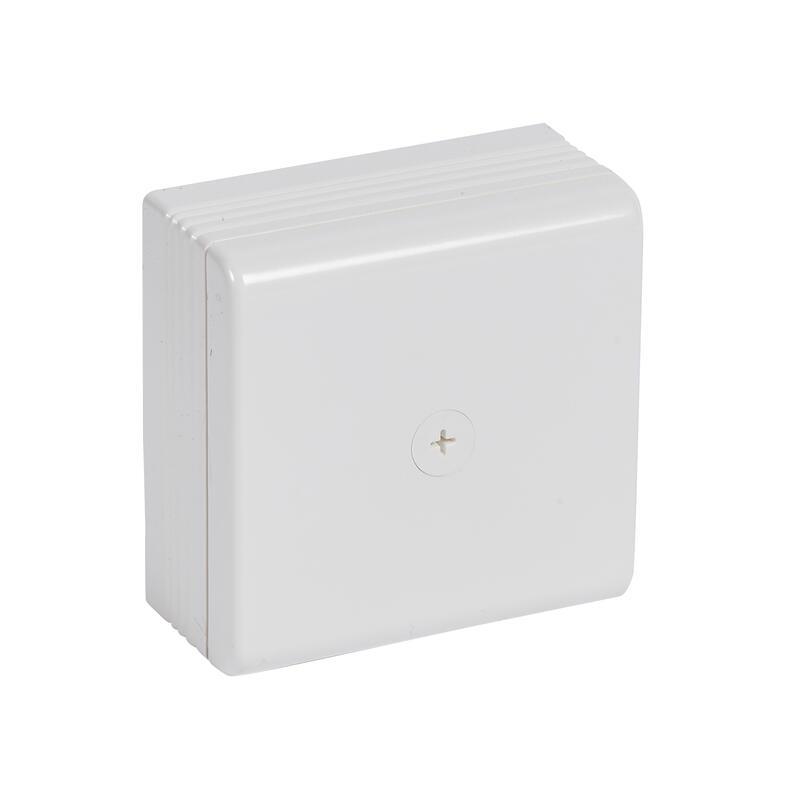 Boîte de dérivation saillie 75x75x35mm pour moulure DLPlus - blanc