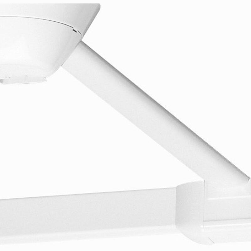 Elément de liaison pour boîte de point de centre et profilé longueur 3m - blanc