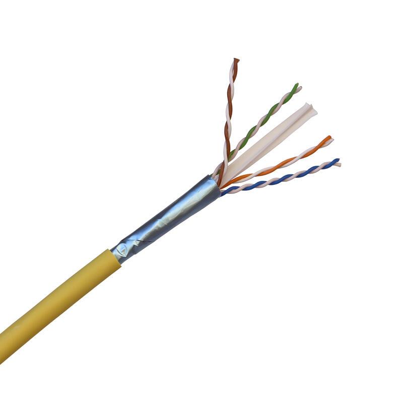 Câble pour réseaux locaux LCS³ catégorie6A U/UTP 4 paires torsadées Euroclasse Cca - longueur 500m