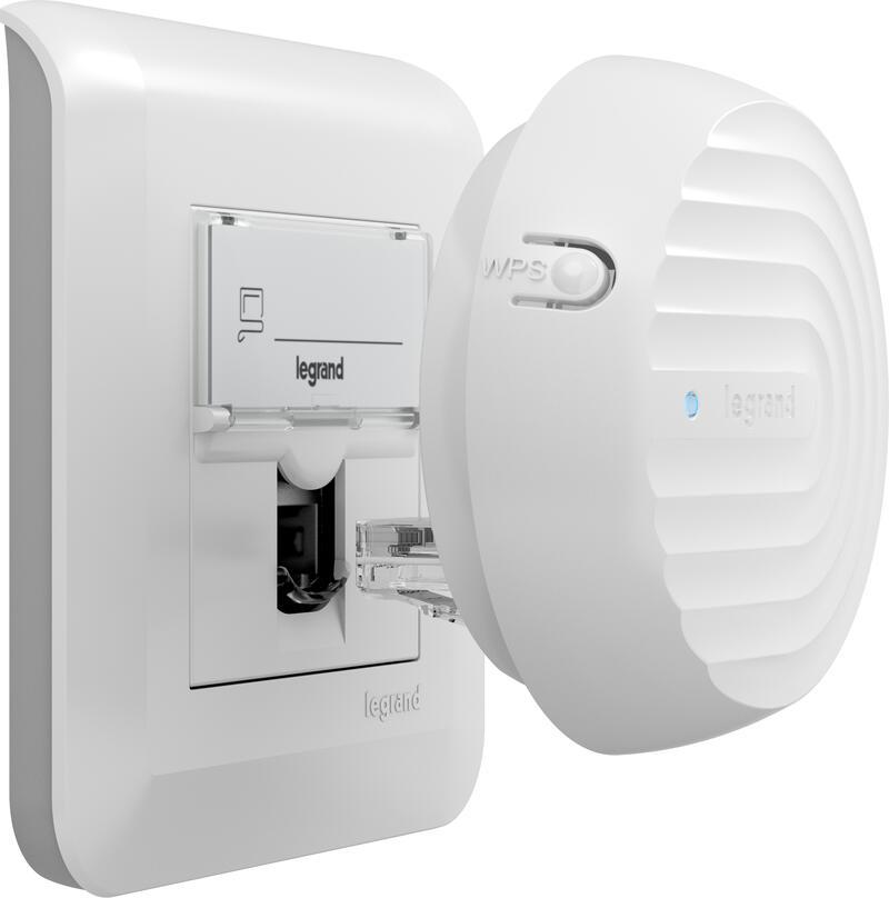 Point d'accès Wi-Fi PoE à brancher dans prise RJ45