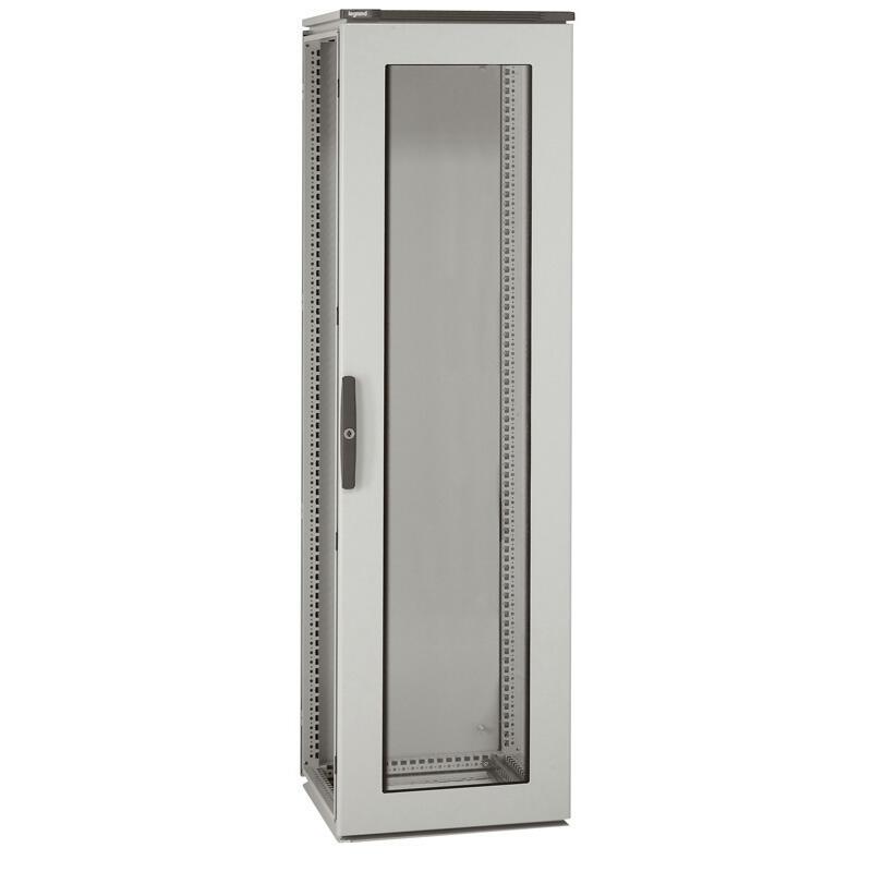 Armoire Altis assemblable métal avec porte vitrée IP55 IK10 - 2000x800x600mm - RAL7035