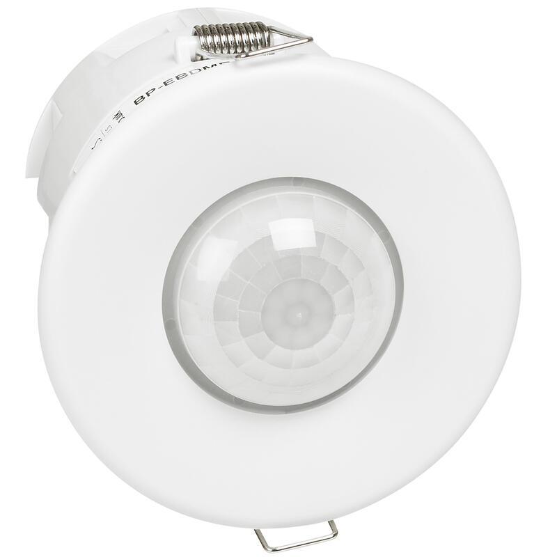 Détecteur infrarouge de présence 360° pour espaces de travail - faux-plafond Ø15m - 3 fils variation 1V à 10V