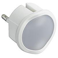 Veilleuse crépusculaire automatique avec LED haute luminosité et fiche 2P 10A - blanc