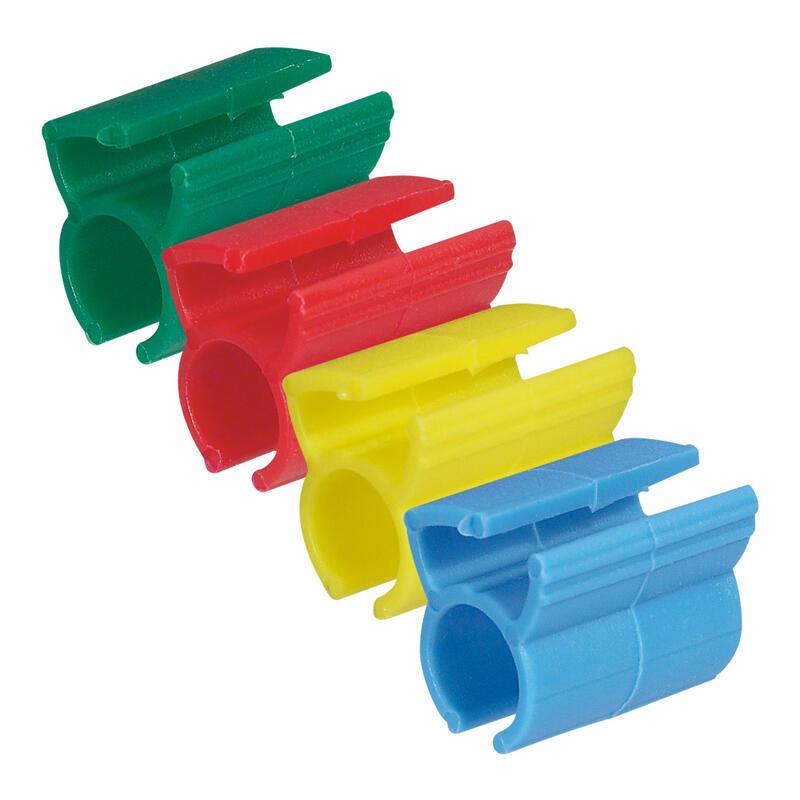 Kit de 200 bagues couleurs clipsables pour repérage des cordons RJ45 LCS³