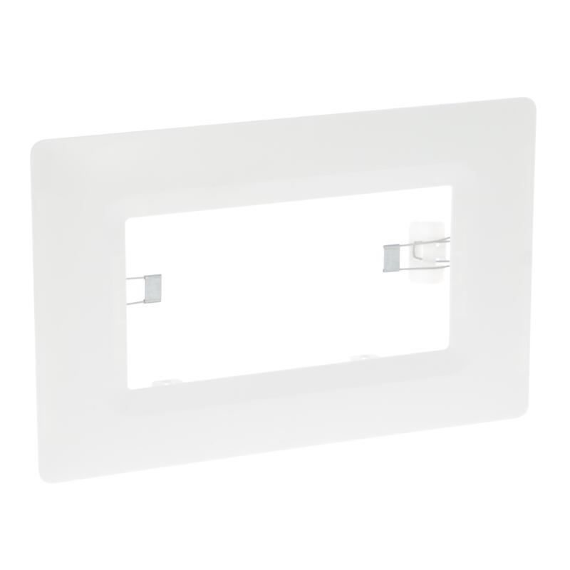 Cadre d'encastrement pour installation des blocs autonomes et LSC en ras de plafond