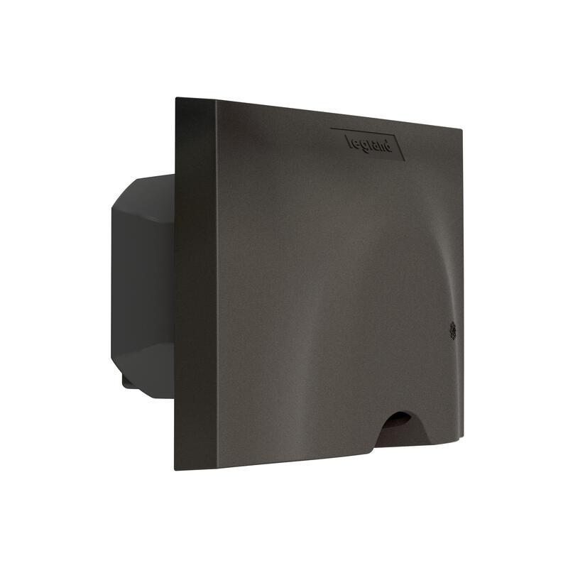 Sortie de câble connectée 230V~ Céliane with Netatmo compatible fil pilote 3000W et mesure consommation - graphite