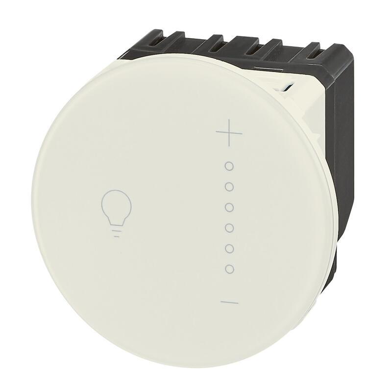 Variateur tactile avec neutre 300 W Céliane - blanc
