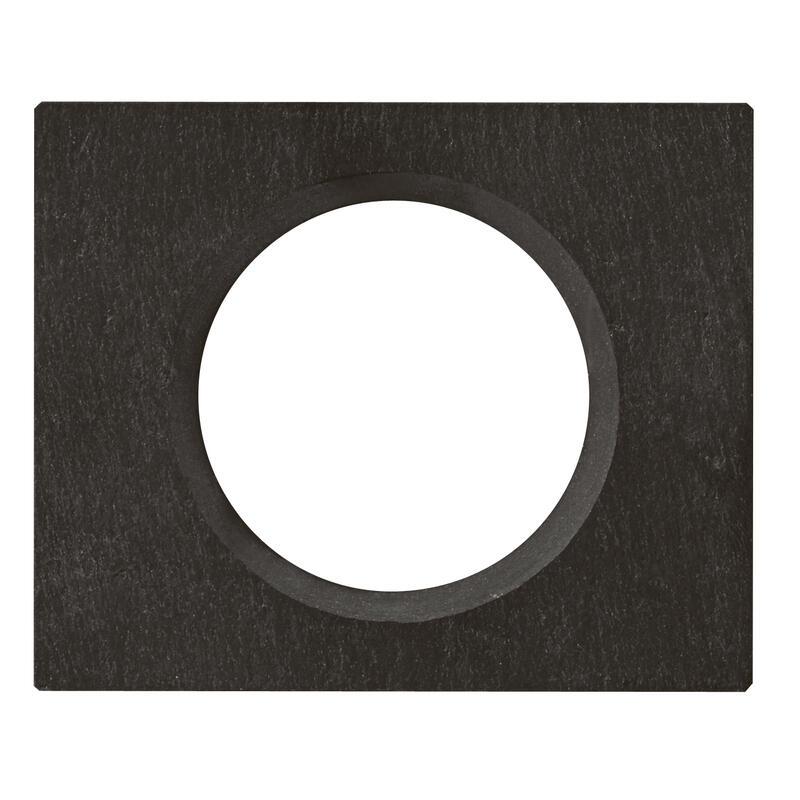 Plaque de finition Céliane - Matière Ardoise - 1 poste