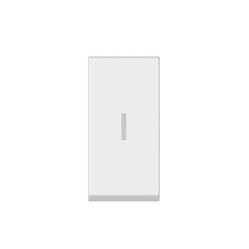 Interrupteur ou va-et-vient 20AX 250V~ Mosaic 1 module - blanc