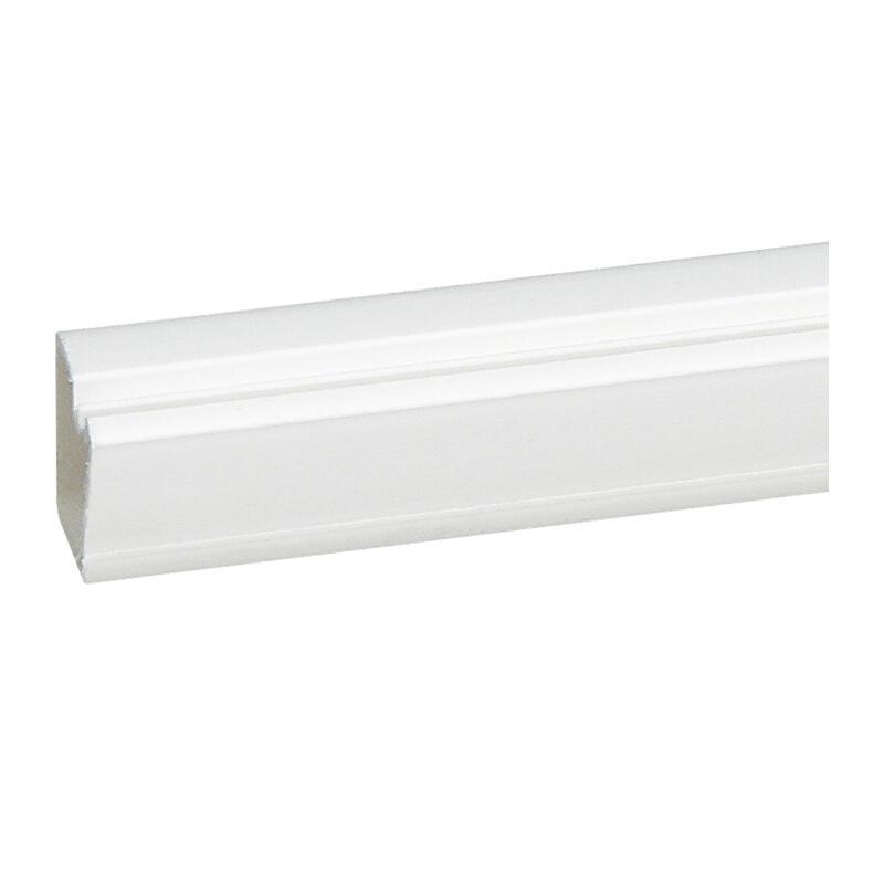 Cache-câbles 16x12,5mm - blanc