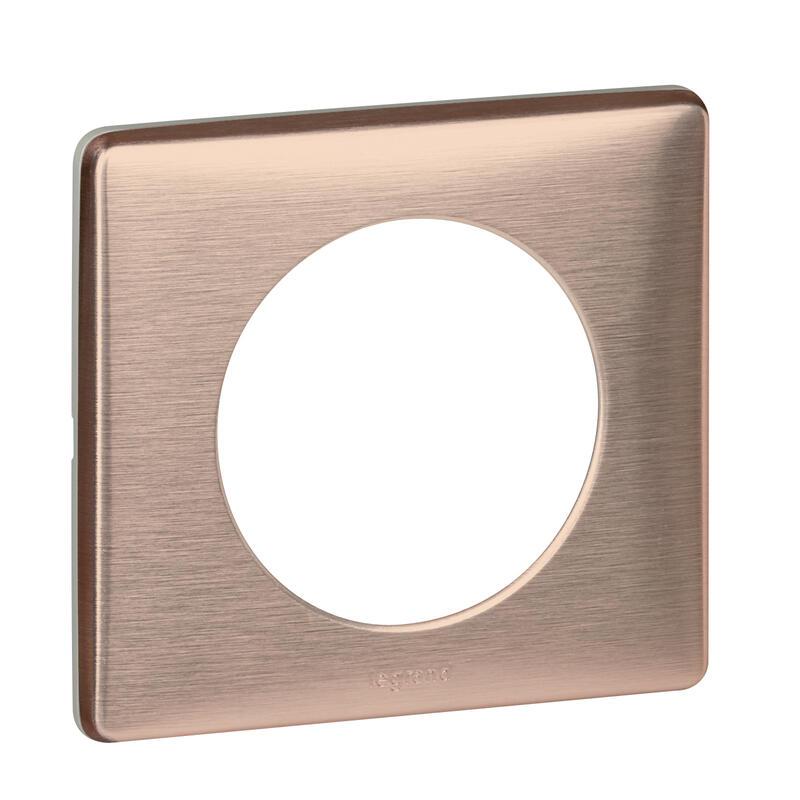 Plaque Céliane - Métal Copper - 1 poste