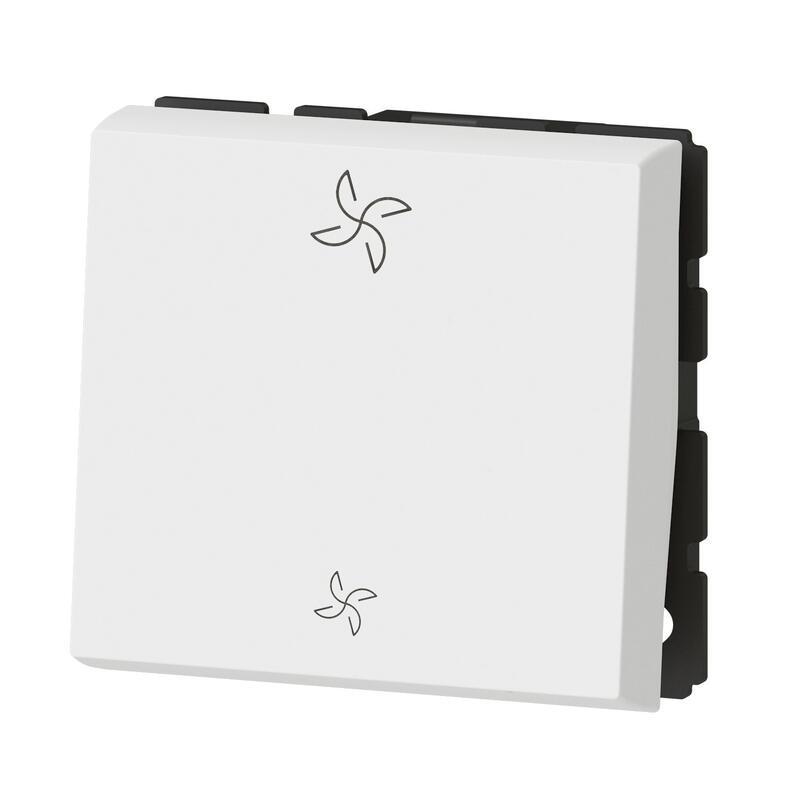 Commande Mosaic pour VMC 2 modules - blanc
