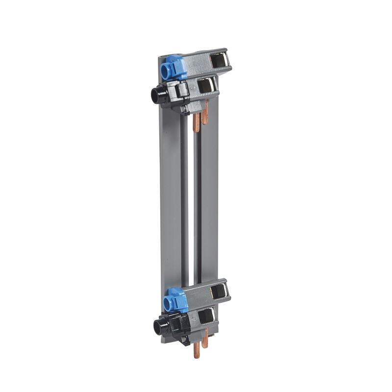 Peigne d'alimentation verticale VX³ optimisée monophasée - pour coffret 2 rangées entraxe 125mm
