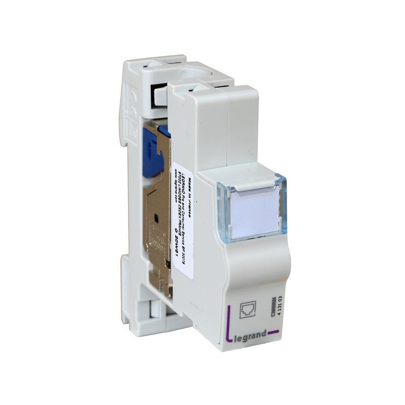 Module de brassage blindé catégorie STP avec connecteur LCS³ certifié PoE++ - 1 module