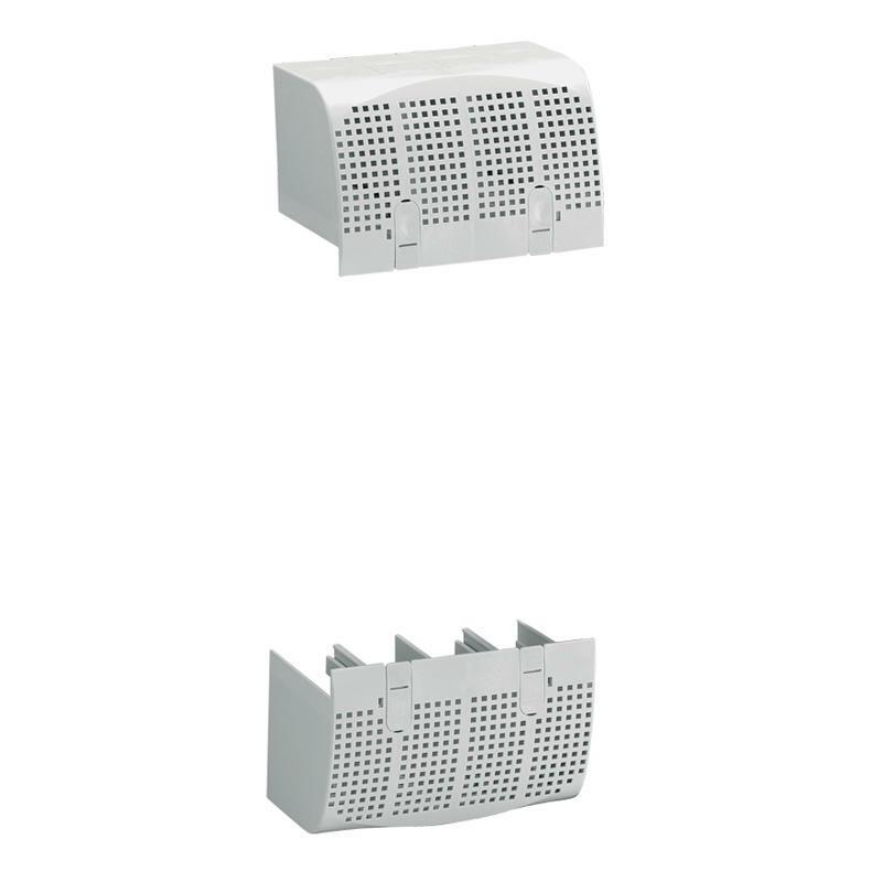 Cache-bornes plombables pour raccordement prises avant pour DPX³160 magnétothermique 4P