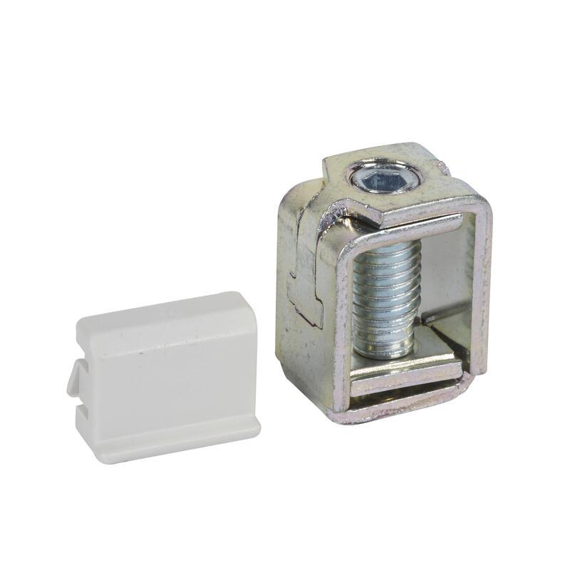 Jeu de 3 bornes à cage pour DPX³160 magnétothermique