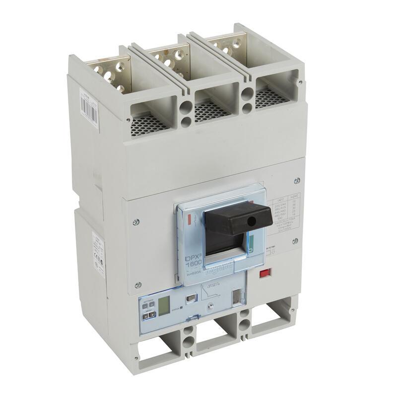 Disjoncteur électronique S2 avec unité de mesure DPX³1600 pouvoir de coupure 36kA 400V~ - 3P - 1000A