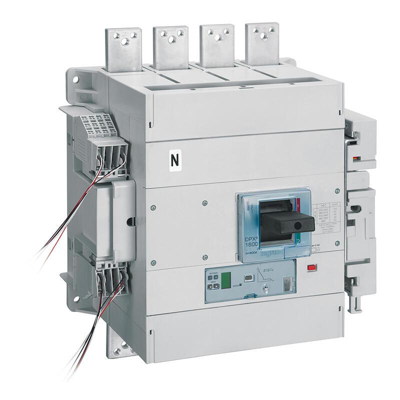 Disjoncteur électronique Sg avec unité de mesure DPX³1600 pouvoir de coupure 100kA 400V~ - 4P - 1000A