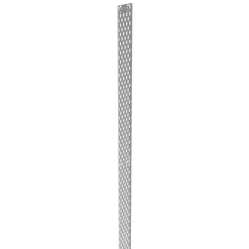 Grille passe-câbles plastique 42U largeur 100mm pour baie serveur 19pouces