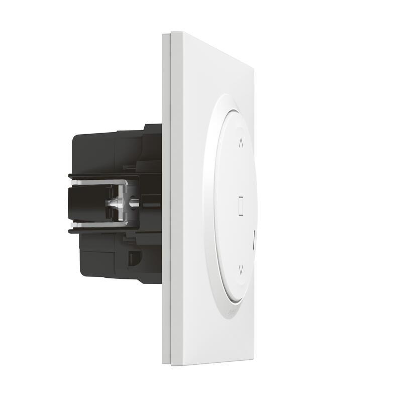 Interrupteur filaire connecté dooxie with Netatmo pour volet roulant - blanc