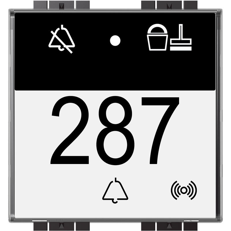 Indicateur extérieur BUS avec lecteur badge Livinglight