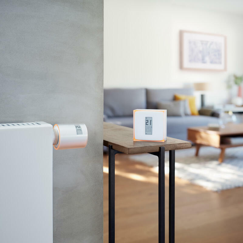 Starter Pack pour logement collectif avec 2 Têtes Thermostatiques Intelligentes et connectées Netatmo et 1 relais